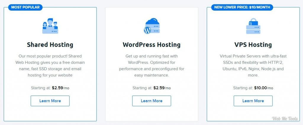 DreamHost Hosting Affordable Plans