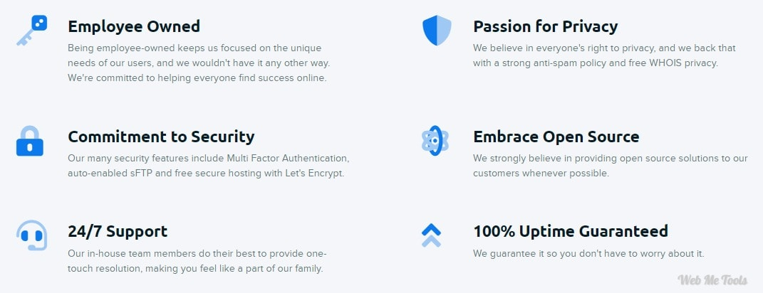 DreamHost Other Features