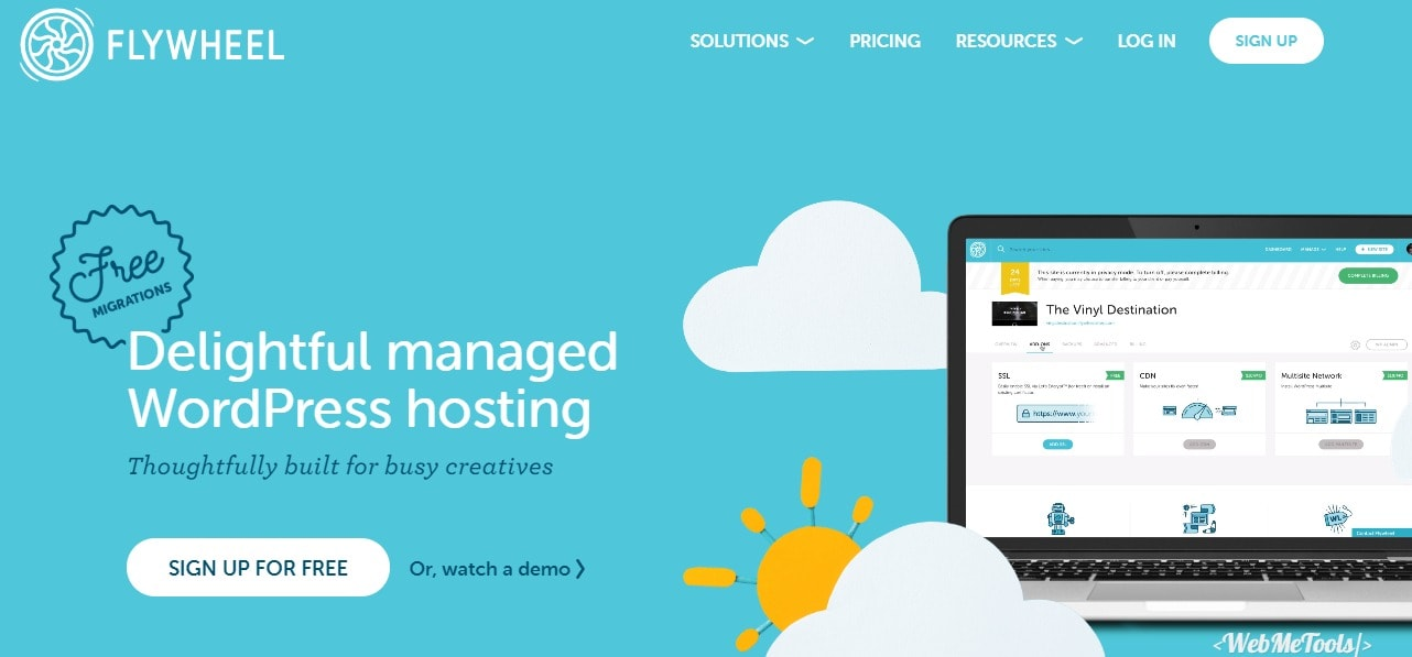 Flywheel Managed WordPress Hosting for Designers and Agencies Home