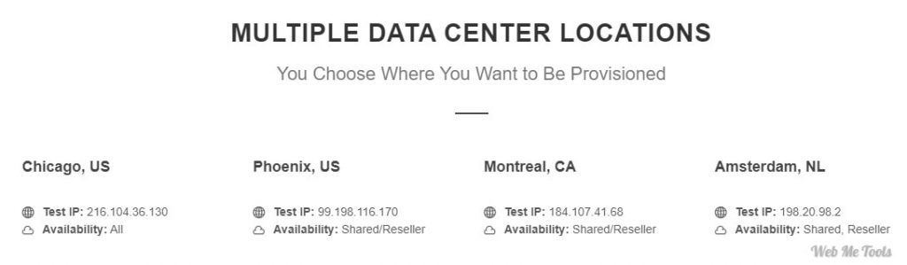 GreenGeeks Server Data Center