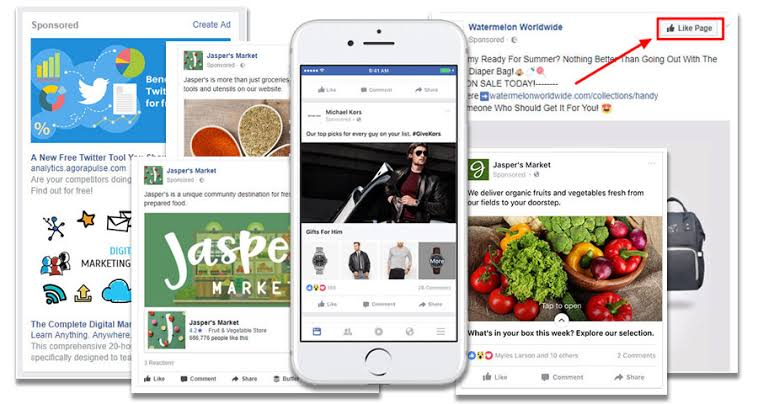 Types of Facebook Advertisment