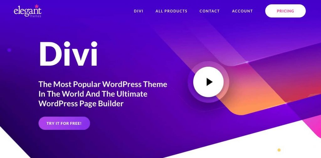 divi theme alternatives to GeneratePress Elegant Themes