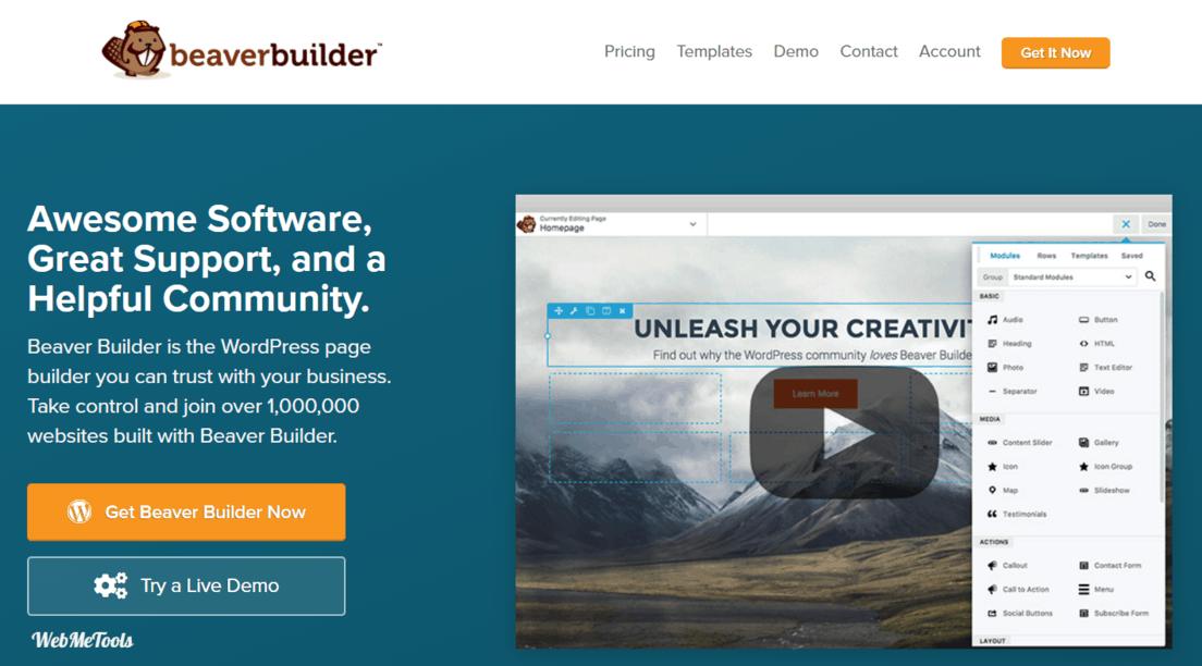 Beaver Builder WordPress Page Builder Plugin