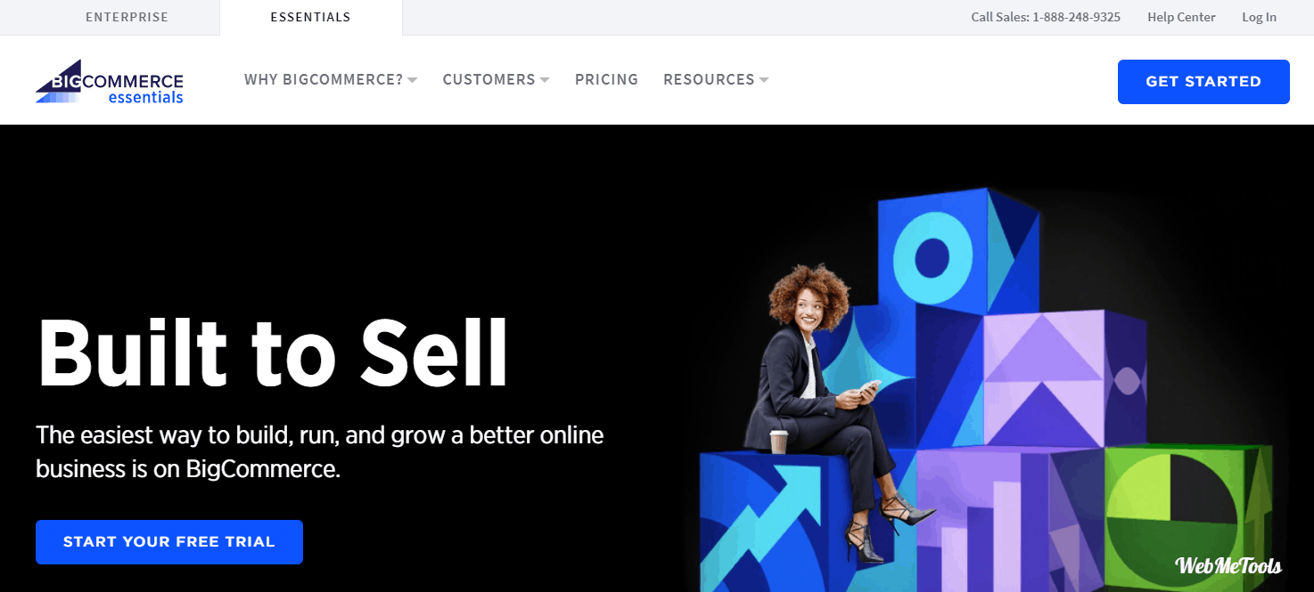 BigCommerce Essential Home Page