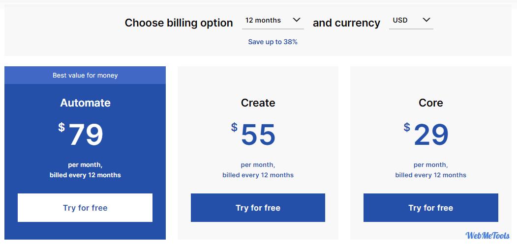 Landingi Pricing