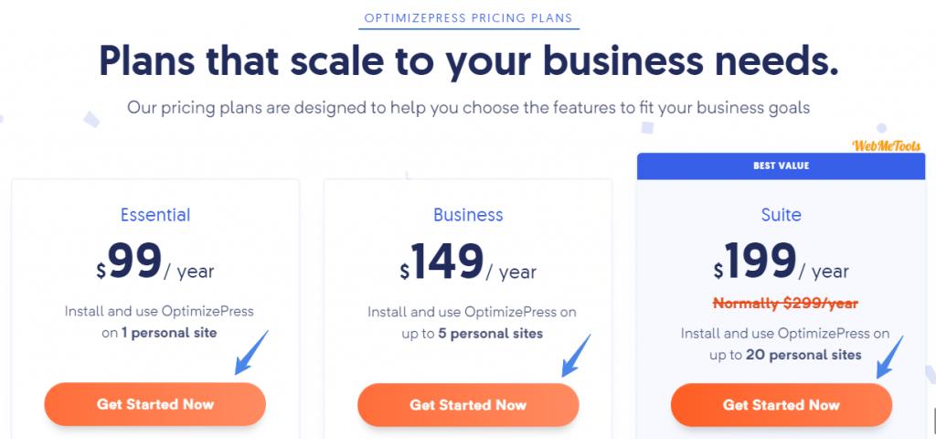OptimizePress-Pricing