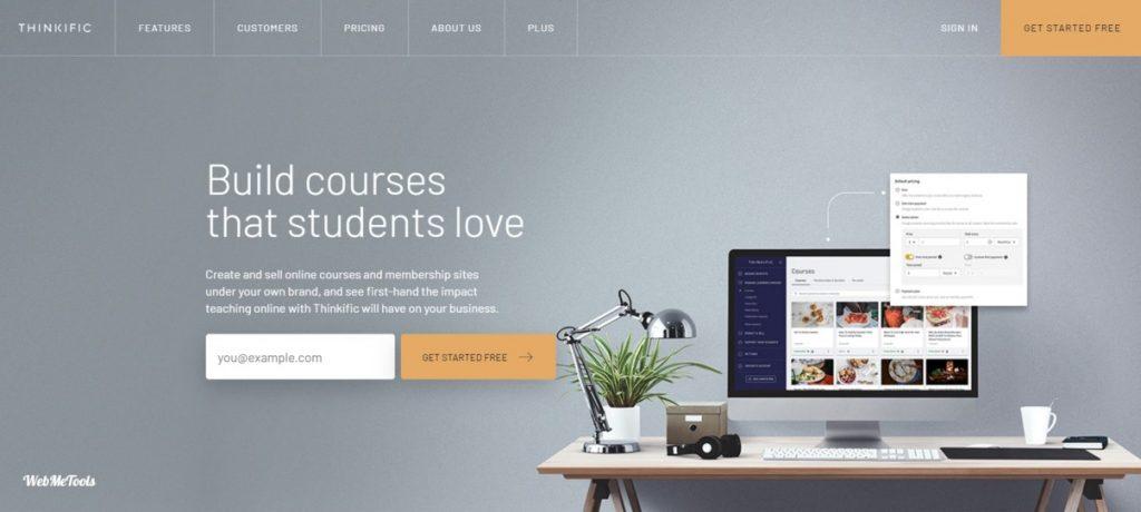 Thinkfic Online Course Platform