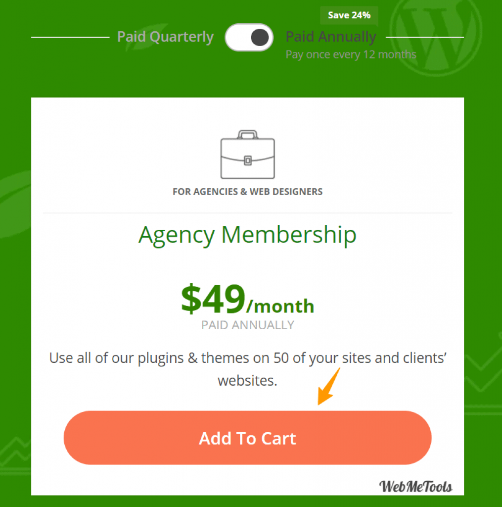 Thrive Membership Agency Pricing