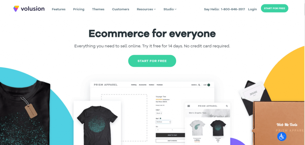 Volusion Ecommerce Website Store