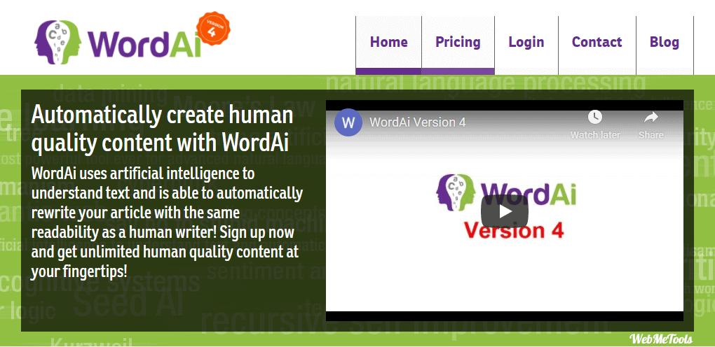 WordAI Review