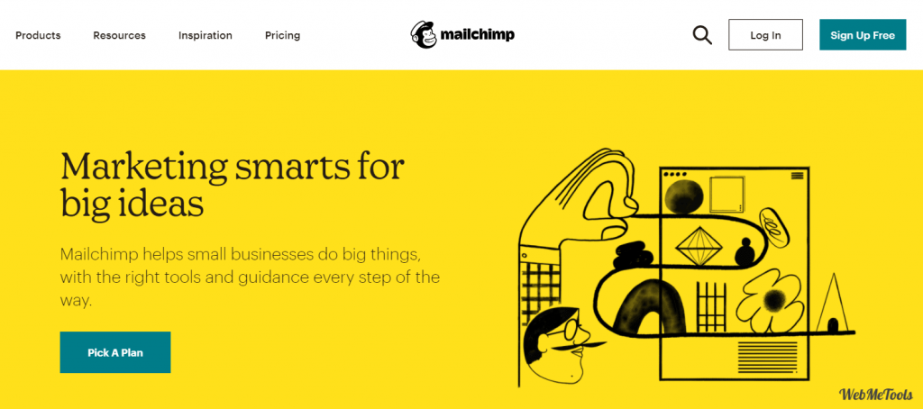 Mailchimp Email Marketing Tools home