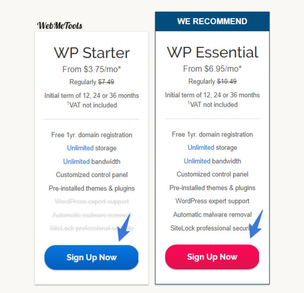 iPage-wordpress-hosting-plans