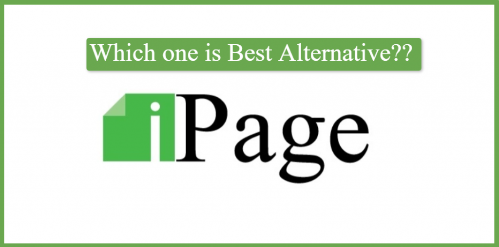 which one is best alternative for ipage