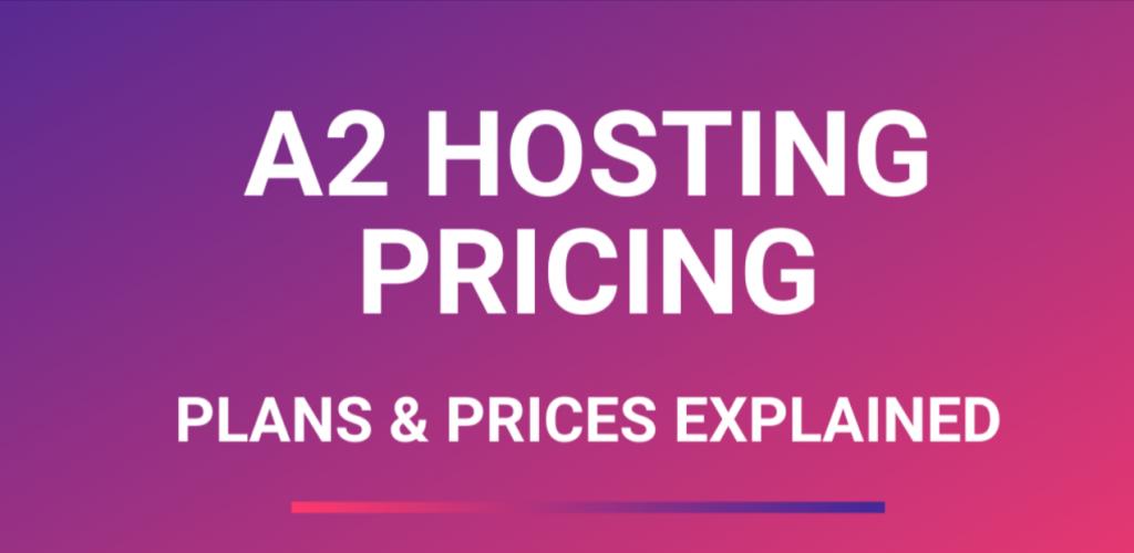 A2 Hosting Coupon and A2 Hosting Promo Code