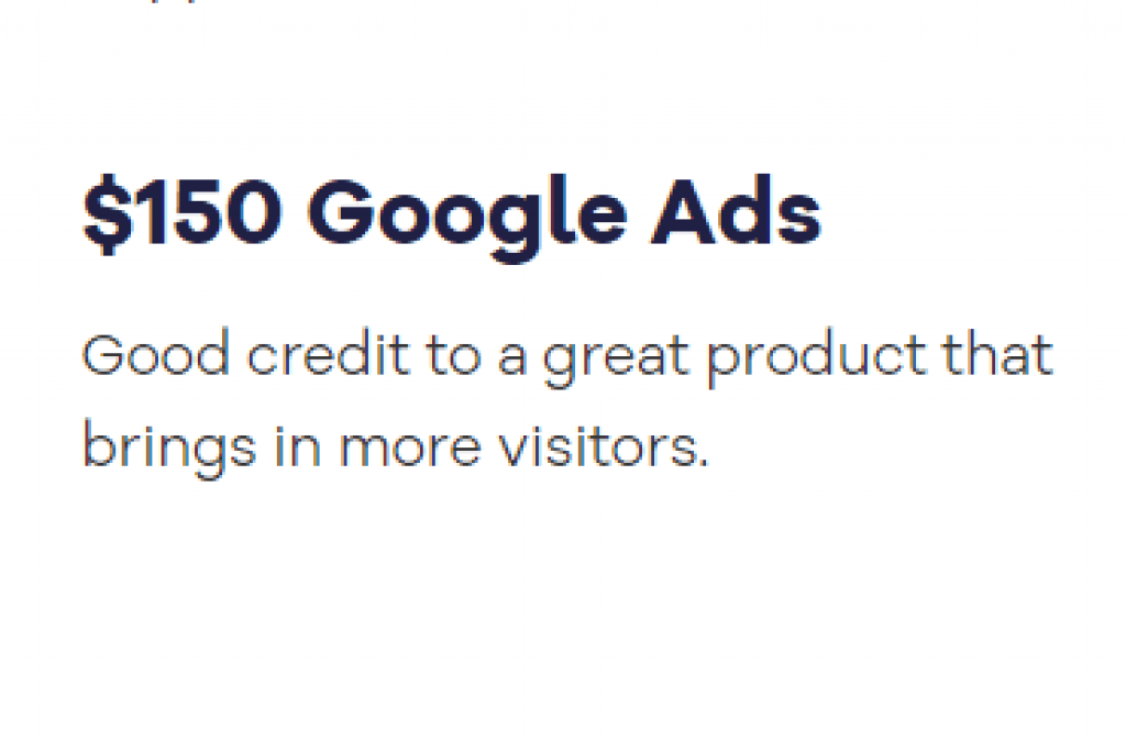 HostGator Google Ads Coupon