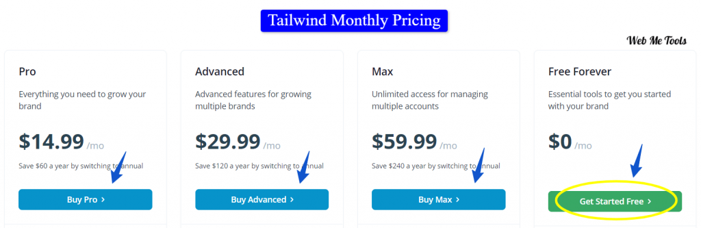 Tailwind-Pricing-Monthly