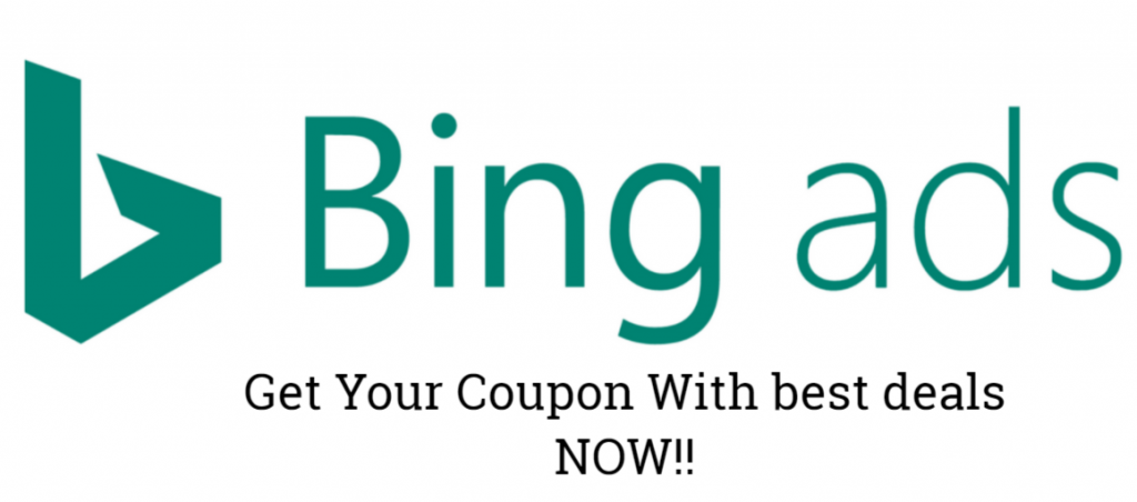 Bing Ads Coupon Code & Bing Ads Credit 2021