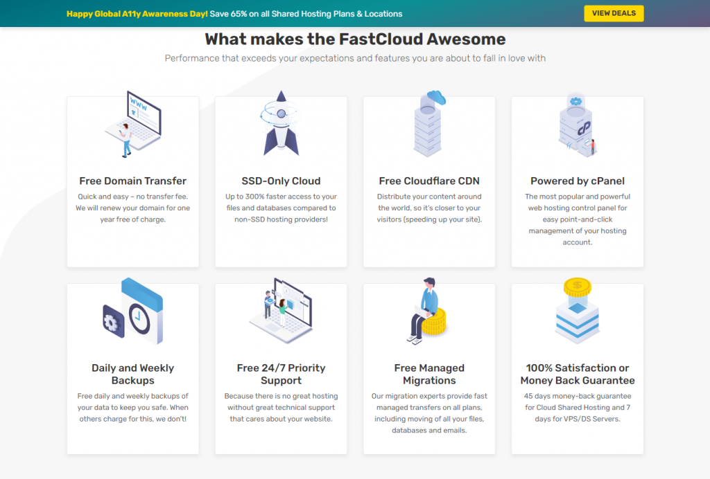 FastCloud features