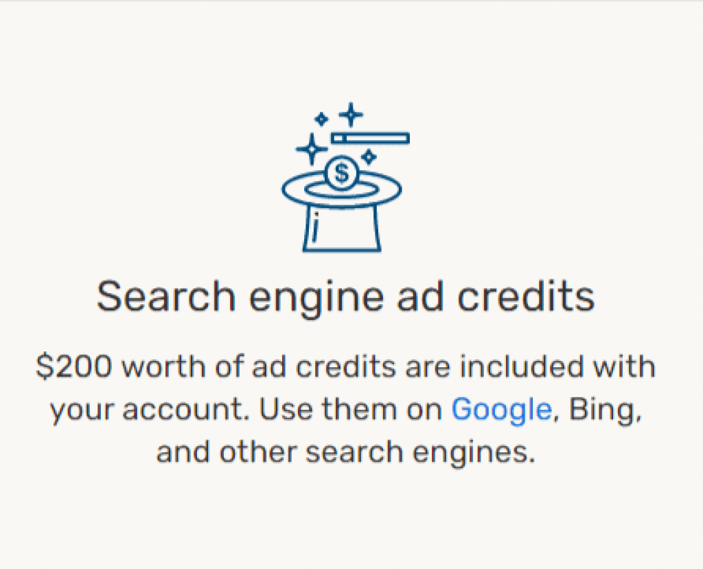 ipage marketing credit