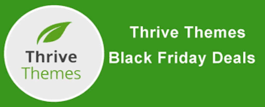 Thrive Themes Black Friday Offers